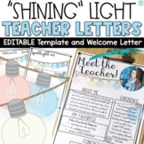 Meet the Teacher Letter Template Editable Farmhouse   Welcome Back to School