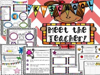 Meet the Teacher! *NEW and EDITABLE*