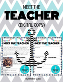 Meet the Teacher (Nautical Theme)
