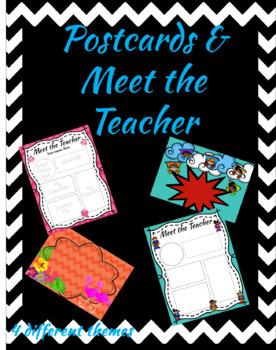 Meet the Teacher & New Student Postcards
