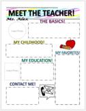 Meet the Teacher Newletter!