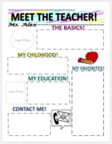 Meet the Teacher Newletter!