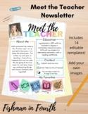 Meet the Teacher Newsletter