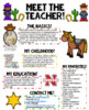 Meet the Teacher Newsletter- EDITABLE - Cowboy theme