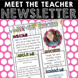Meet the Teacher Newsletter - Shiplap & Neon
