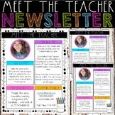 Meet the Teacher Newsletter - Teacher Favorites