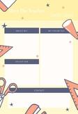 Meet the Teacher Newsletter Templates EDITABLE (4 Themes)