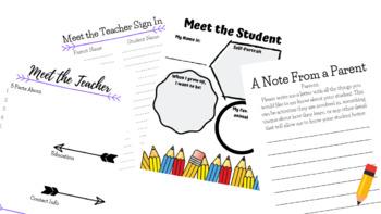 Meet the Teacher Night Bundle
