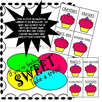 Meet the Teacher Night Bundle (Color POP Theme) *Editable*