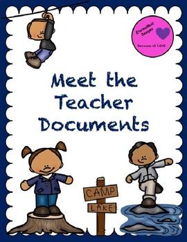 Meet the Teacher Night Documentation