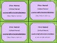 Meet the Teacher Night Info Cards - 6 Pastel Styles - Octagonal