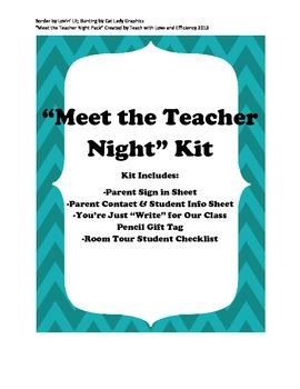 """""""Meet the Teacher Night"""" Kit"""