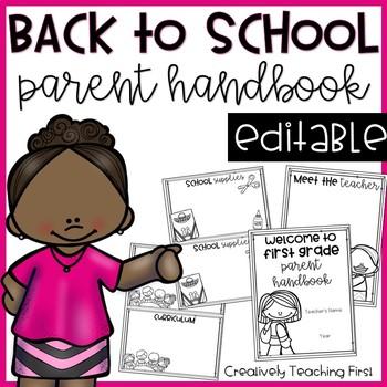 Meet the Teacher Night Packet {EDITABLE}