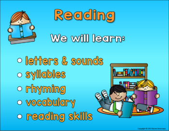 Meet the Teacher - Open House PowerPoint - School Kids Theme