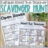 Meet the Teacher Night & Open House Scavenger Hunt - Editable