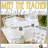 Meet the Teacher Night {Editable Grey Shiplap}