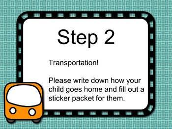 Meet the Teacher Night Station Signs (Editable PowerPoint)