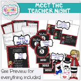 Meet the Teacher Night Stations - Kids Theme