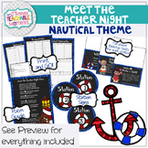 Meet the Teacher Night Stations - Nautical Theme