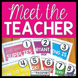 Meet the Teacher Night Stations for Back to School