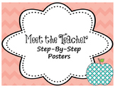 Meet the Teacher Night Step-by-Step Posters