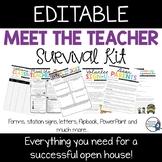Meet the Teacher Night Template - EDITABLE