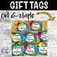 Back to School Gift Tags for Students