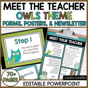 Meet the Teacher-Owls