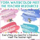 Meet the Teacher | Open House | Back to School Night: Yoga