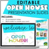Meet the Teacher | Open House | Editable Slideshow Template