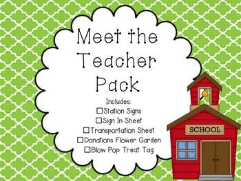 Meet the Teacher/ Open House Night