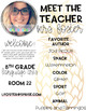 Meet the Teacher/Open House - Preppy Pineapple