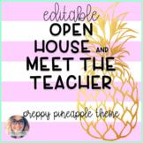 Meet the Teacher/Open House - Preppy Pineapple