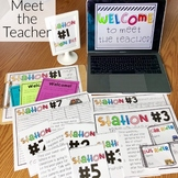 Meet the Teacher Stations - Open House Stations