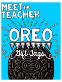 Meet the Teacher: Oreo Gift Tags