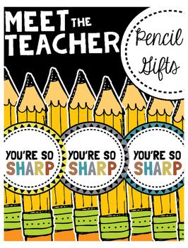 Meet the Teacher: Pencil Gifts