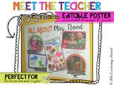 Meet the Teacher Poster