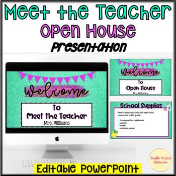 Meet the Teacher PowerPoint Editable
