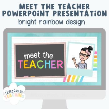 Meet the (Preservice) Teacher PowerPoint Presentation