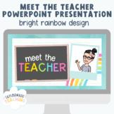 Meet the Teacher (PowerPoint Presentation) *UK/AUS spelling
