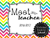 Meet the Teacher PowerPoint Presentation (Open House) - Ch