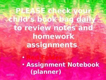 Meet the Teacher Powerpoint Slideshow Presentation - Pinks - Editable