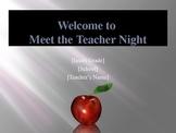 Meet the Teacher Powerpoint