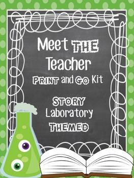 Meet the Teacher Print and Go Kit
