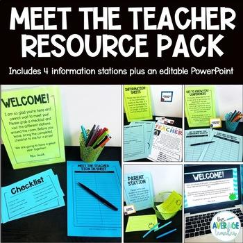 Editable Meet the Teacher Printables - Templates, Letter, Ideas, and More!