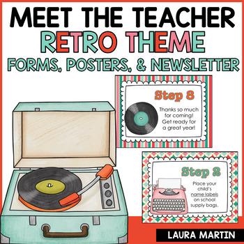 Meet the Teacher-Retro Theme