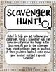 Meet the Teacher Scavenger Hunt (Shiplap themed)