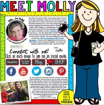 Meet the Teacher Seller: Molly of Elementary Lesson Plans
