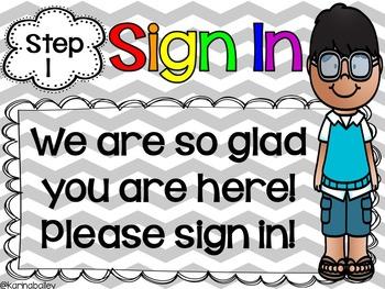Meet the Teacher Signs