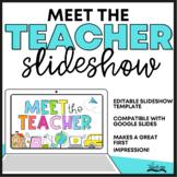Meet the Teacher Slideshow